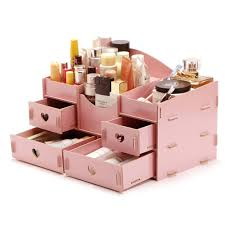 Desk Organizers Wood by Aliexpress Com Buy Fashion Wooden Makeup Organizer Diy Women