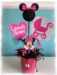 minnie mouse baby shower minnie mouse baby shower centerpieces images search