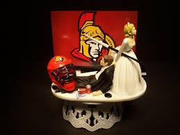 wedding cake ottawa hockey sports team ottawa senators and groom wedding