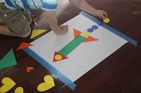 toddler approved shape activities for preschoolers away we go