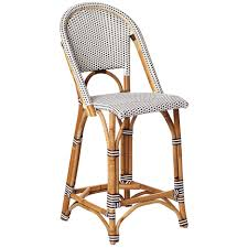 parisian bar stools french woven bistro chairs parisian bistro