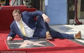 john goodman honored on walk of fame daily mail online