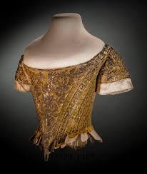 Fashion Institute Of Design And Merchandising Orange County 1761 Court Bodice Helen Larson Historic Fashion Collection