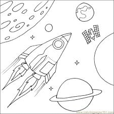 spaceship coloring pages u2013 barriee