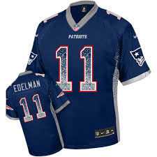 officia youth elite julian edelman navy blue jersey drift fashion 11 nfl