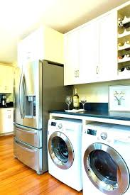 laundry in kitchen ideas washer and dryer in kitchen hide washer and dryer in kitchen washer