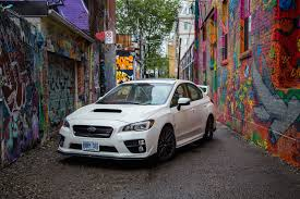 subaru impreza wrx 2016 review 2016 subaru wrx sti sport package canadian auto review