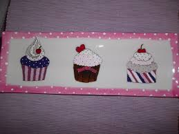 porcelaine peinte main plat rectangle porcelaine peinte main cupcakes pois alloco