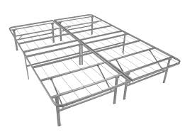 queen size metal platform bed base