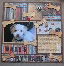 dog scrapbook album 124 best scrapbook pets images on scrapbooking ideas