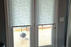 Side Curtain Rods Glass Front Door Window Coverings Side Curtain Rods Blinds Inside