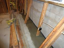 Interior Basement Drainage System Basement Waterproofing Des Moines Iowa Home Restoration U0026 Repair