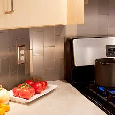 kitchen backsplash stainless backsplash behind range commercial