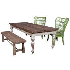 rustic reclaimed wood bench simplistic