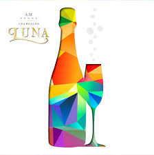 champagne bottle cartoon champagne luna u2013 champagne luna born in the south of champagne
