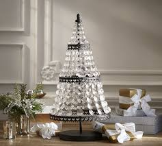 faceted tree pottery barn