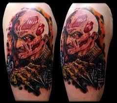 terrifying horror movie tattoos neatorama