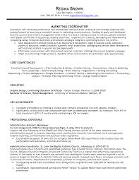 sample of a resume summary marketing coordinator resume summary dalarcon com marketing coordinator resume sample resume for your job application