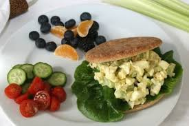 diabetic breakfast recipe the diabetic skillet egg salad sandwiches