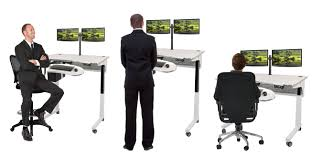 Sit To Stand Desks by Standing Desks Sit To Stand Workstation Table