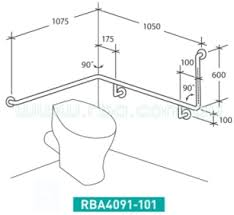 Disabled Handrails Accessible Disabled Grab Rails Rba Group Bathroom Products