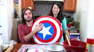 how to make a captain america cake nerdy nummies video dailymotion