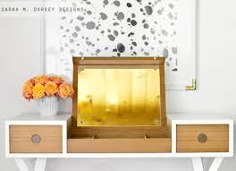 Mid Century Modern Vanity Sarah M Dorsey Designs Mid Century Modern Vanity Adding Custom