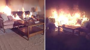newer homes and furniture burn faster giving you less time to
