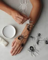 halloween ink jet tattoos martha stewart