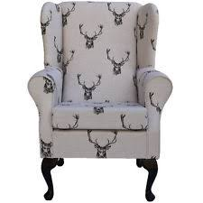 Wing Back Armchairs Wing Back Armchair Ebay