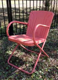 Vintage Patio Furniture Metal by 171 Best Vintage Metal Porch Chairs Images On Pinterest Vintage