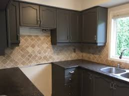 how to paint oak cabinets grey sharrard professional kitchen cabinet painting and