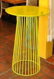 Yellow Bar Table Bar Tables Design Option