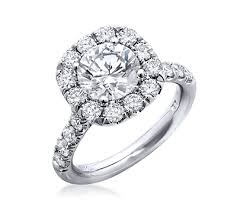 large engagement rings halo engagement ring with large diamonds