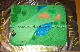 coolest golf sports cake ideas and decorating tips