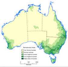 major cities of australia map defining rural and remote royal flying doctor service