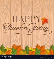 autumn background for thanksgiving day royalty free vector