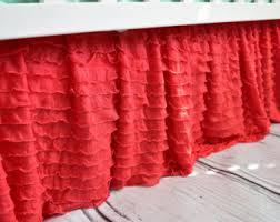 light coral ruffle crib skirt coral nursery bedding pink