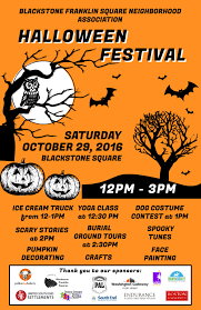 halloween festival u2014 blackstone franklin square neighborhood