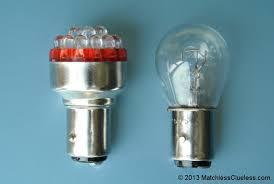 6 volt light bulb 6v lucas 529 led stop and tail light matchless clueless
