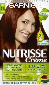 rich cherry hair colour garnier nutrisse cream nourishing permanent hair colour 4 6 morello