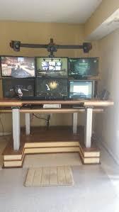 Computer Desks by 239 Best Computer Desks Images On Pinterest Gaming Setup
