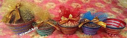 Indian Home Decor Online Shopping Multipurpose Decorative 6 Basket Craft Shops India