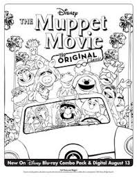 muppet movie coloring pages google coloring loving