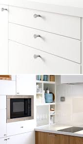 Minimalist Kitchen Cabinets 8 Kitchen Cabinet Hardware Ideas For Your Home Contemporist