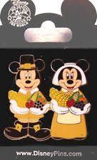disney pin mickey minnie thanksgiving pilgrims ebay