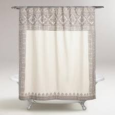 Ivory Shower Curtain White Shower Curtains Polyvore