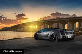 Lamborghini Gallardo Matte Black - lamborghini gallardo on matte black adv 1 wheels gtspirit