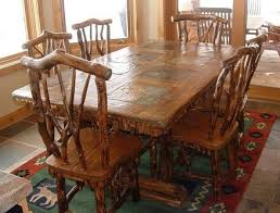 Rustic Dining Table And Chairs Rustic Dining Table And Chairs By Rusticbru Lumberjocks