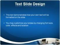 office desk powerpoint template background in business powerpoint